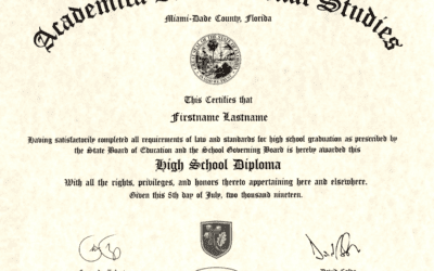 Décrocher le US High School Diploma depuis la France grâce au digital !
