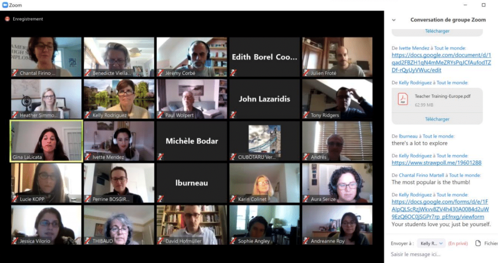Enseignement à distance : les professeurs Academica partagent leurs expertises et outils